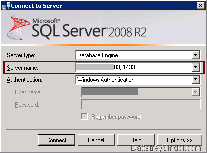 Ssms Specify Port Number While Connecting To Remote Sql