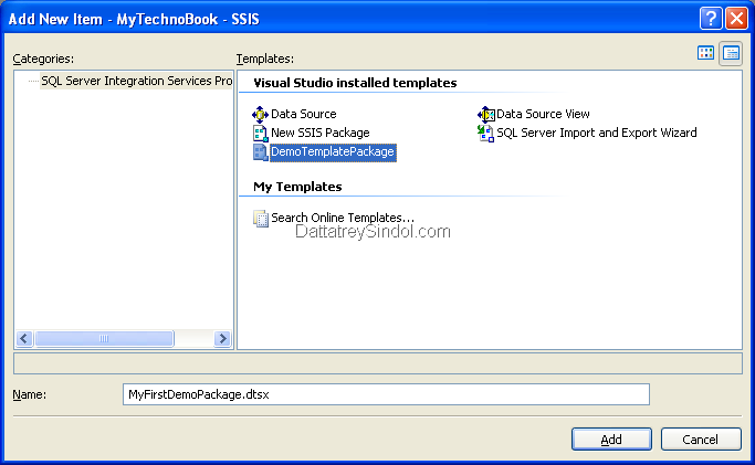 Tips \'N\' Tricks – SSIS – Ensure Consistency across Packages using ...