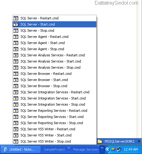 Sample Toolbar with Shortcuts for Managing SQL Server Services.PNG